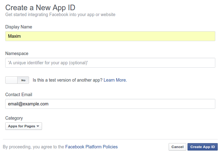 create_facebook_api